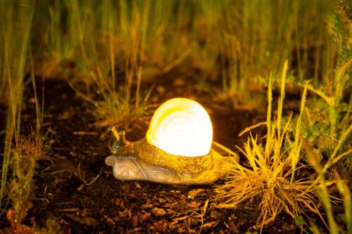 Energia Solare LUMACA Decorazione Giardino Luce LED Shell Outdoor Lampada Da Animale Novità