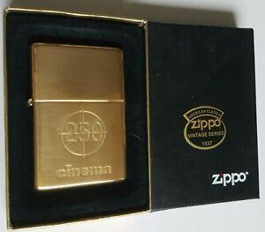 MEGA-Selten-Zippo-1937-Vintage-Replica-Cinema-250-Ltd-Germany-Only-1999-RAR