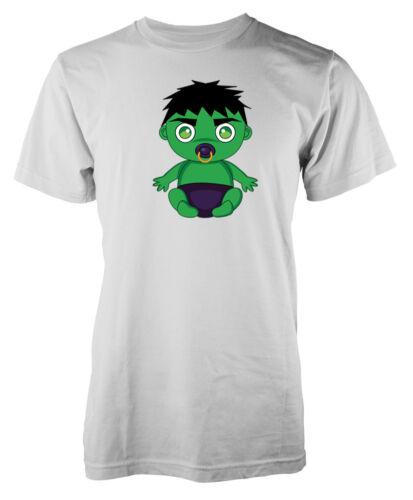 Baby Hulk Super Héros Avenger Ultron Adulte T-Shirt