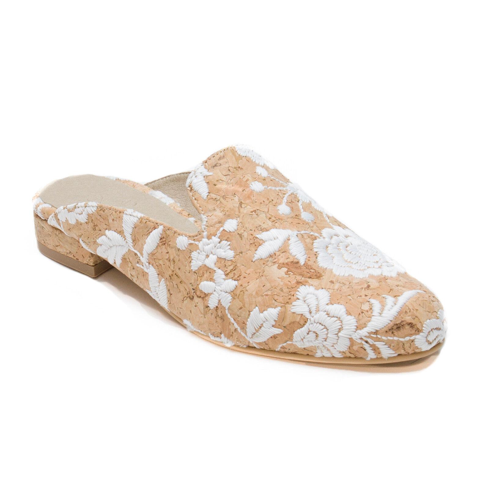 nae - flower Sliper vegan sandal round made on corck flower - pattern Babuchas veganas 826ad6