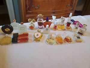 24-Lot-Perfume-Mini-Bottles-Chanel-Nuit-de-noel-Givenchy-first-and-more