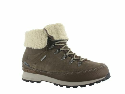 f709b4eb50f HI-TEC Kono Espresso Ladies Womens Waterproof Faux Fur Walking BOOTS  Brown/stone UK 5