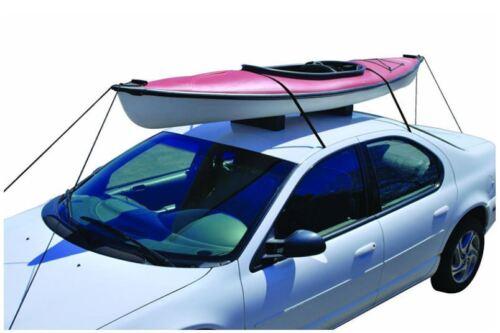 Universal Ocean Double Tandem Fishing Kayak Roof Rack Mount Carrier Kit For Car