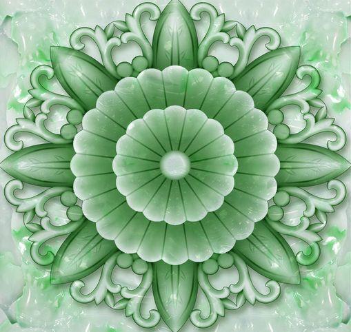 3D Fleur 018 Fond d'écran étage Peint en Autocollant Murale Plafond Chambre Art