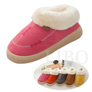 bedroom shoes for womens casual plush slippers winter warm bedroom fur 14427