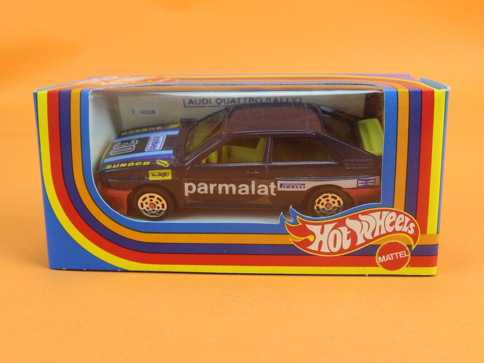 Mattel Super Hot Wheels 1 43 audi quattro 4 Rally COD. 6899 Bottom Mag [oh3-054]