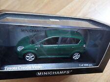 Minichamps Toyota Corolla Verso 5 portes / doors 1:43 MIB neuf new ref 400166361