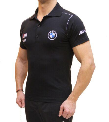 Handgemachte BMW M Power T-Shirt Polo Shirts bestickt Stickerei Stickerei М3 М5