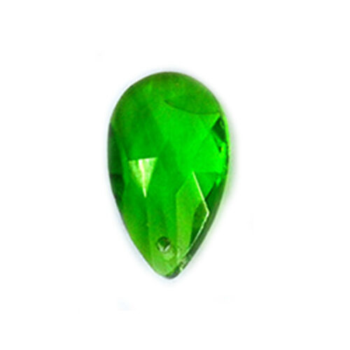 Multicolor Teardrop Shape  Crystal Loose Beads DIY Crafts Making Pendant Acces