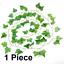 Artificielle-de-fuite-Ivy-Vigne-Feuille-Fougeres-verdure-Garland-Plantes-Feuillage-Fleurs miniature 20