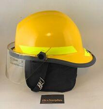 Bullard Fx Series Fiberglass Structural Fire Helmet 4 Faceshield Neck Cover