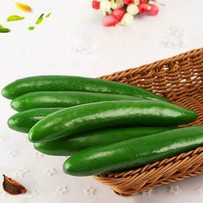 4PCS Artificial Fake Cucumber Vegetables Photo Props House Party kitchen Decor