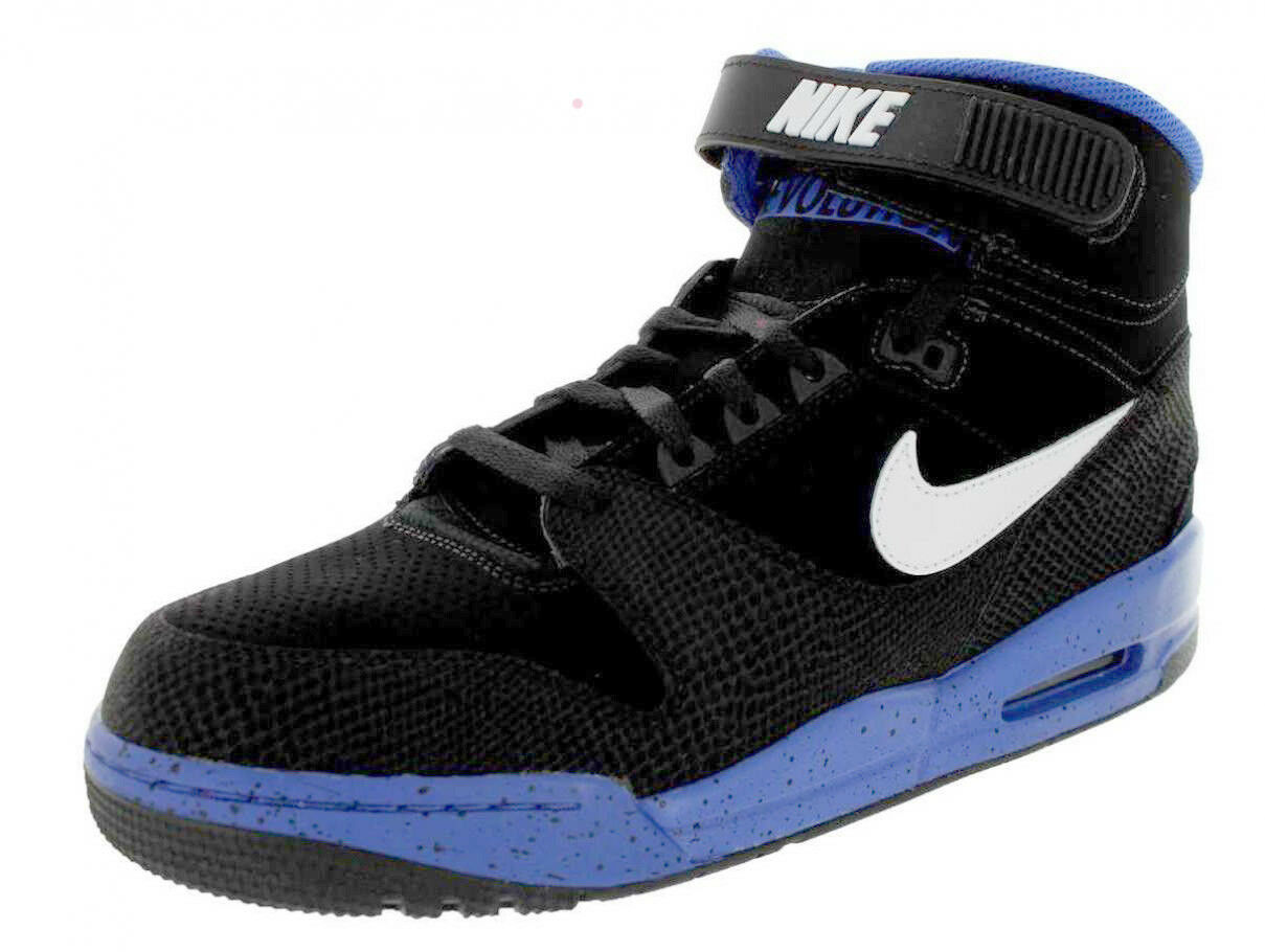 Nike Men's Air Revolution shoes NEW AUTHENTIC Black White Royal 599462-004