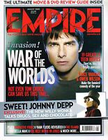 EMPIRE #194 08/2005 TOM CRUISE Jessica Alba WAR OF THE WORLDS Johnny Depp @EXCLT