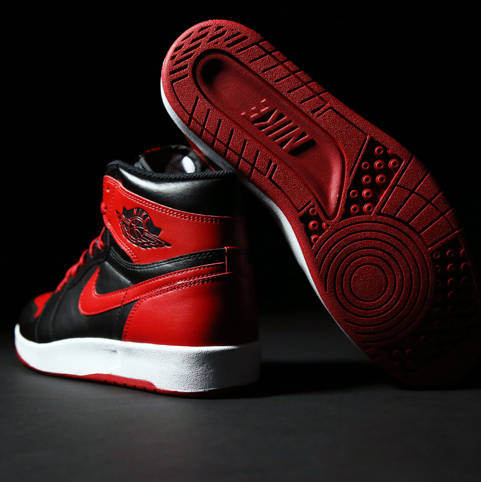 nike air jordan 1.5 rendeHommes  t taille 8,5.bRouge  rendeHommes noir rouge.768861-001.chicago tep 936c07