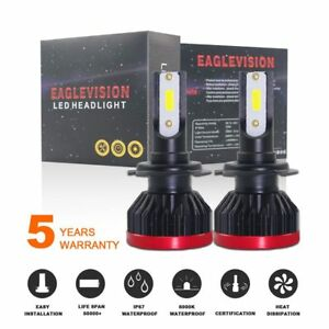 Mini-H7-100W-20000LM-Auto-LED-Phare-Kit-DOB-Puce-Ampoules-Lumiere-12V-24V-6500K