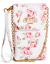 Details about  /NWT GUESS HARPER PHONE HANDBAG WRISTLET WALLET Floral Logo Shoulder Bag GENUINE
