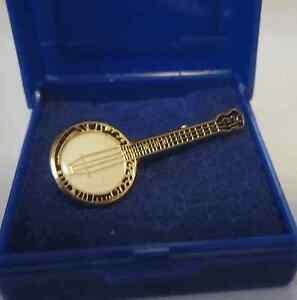 BANJO-Lapel-Pin-Badge-Brooch-Music-Gift-Present-Christmas-Musical-GIFT-BOXED