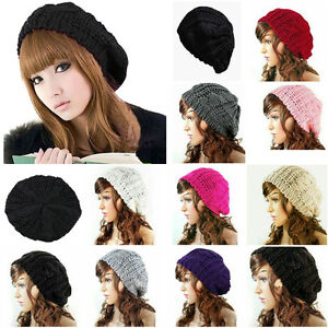 5c46d41070a Image is loading Womens-Cap-Newest-Knit-Hat-Hoodie-Slouchie-Slouchy-