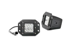 2-inch-Square-Flush-Mount-Cree-LED-Lights-Pair-Chrome-Series-70803