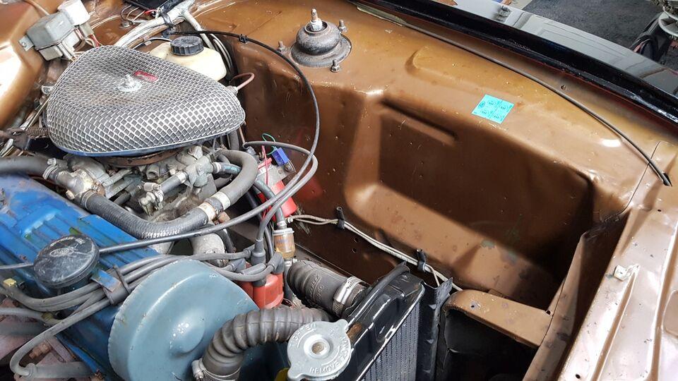 Ford Capri 1,6 GT Benzin modelår 1974 km 50000 Brunmetal