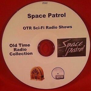 Space-Patrol-Sci-Fi-OTR-MP3-CD-100-Old-Time-Radio-Shows-Audio-Book