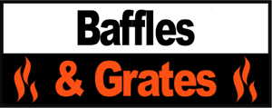 Replacement Baffles//Throat Plates to suit Fireline Stoves