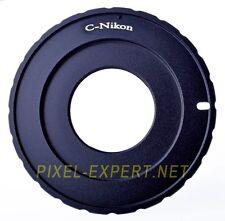 ADATTATORE ANELLO C-MOUNT NIKON PASSO C DF D5300D800 D800E D4 D5100 D7000 D3