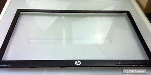Ersatzteil-fuer-HP-ProDisplay-P221-Displayrahmen-Rahmen-Bezel-Schwarz-NEU
