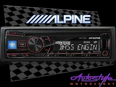 Alpine CDE-150E mp3 cd front loader with USB With Remote  Alpines CDE-150E is the perfect head unit