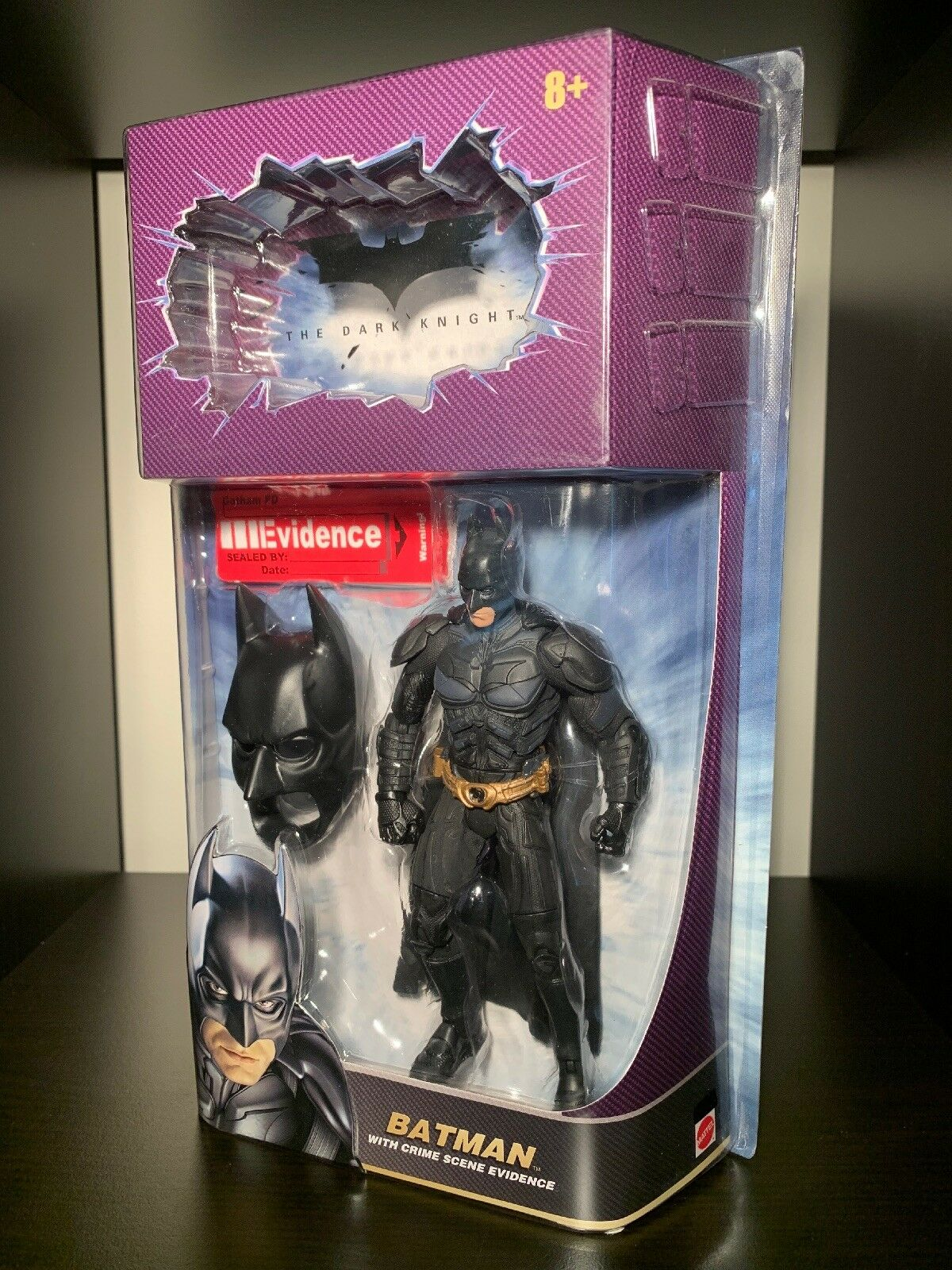 Batman Variant Dark Knight Action Figure RECALLED Version Mattel Movie Masters
