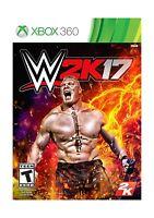 Wwe 2k17 - Xbox 360 Disc Free Shipping