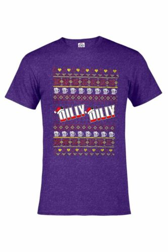 DILLY DILLY CHRISTMAS HEATHER T-SHIRT HOLIDAY BEER FUNNY ASSORTED COLORS S-4XL