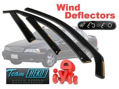 VOLVO 850 1991-1998 S/V70 1997-2000  wind deflectors 4.pcs set.  HEKO (31225)