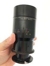 Taylor Hobson Cooke 80mm f1.3 Vidital Vintage English Lens Cell Dallmeyer