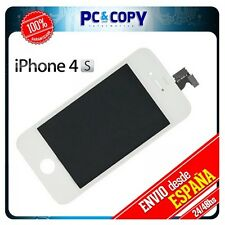 PANTALLA LCD COMPLETA + TACTIL PARA IPHONE 4S CRISTAL BLANCO 4 TOUCH SCREEN A++