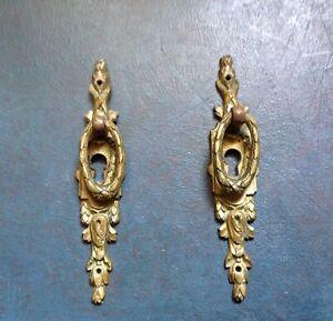 French ormolu escutcheon