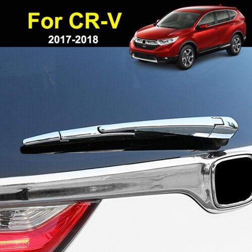 For Honda CR-V CRV 2017-2019 Chrome Rear Window Wiper Cover Trim Molding Overlay