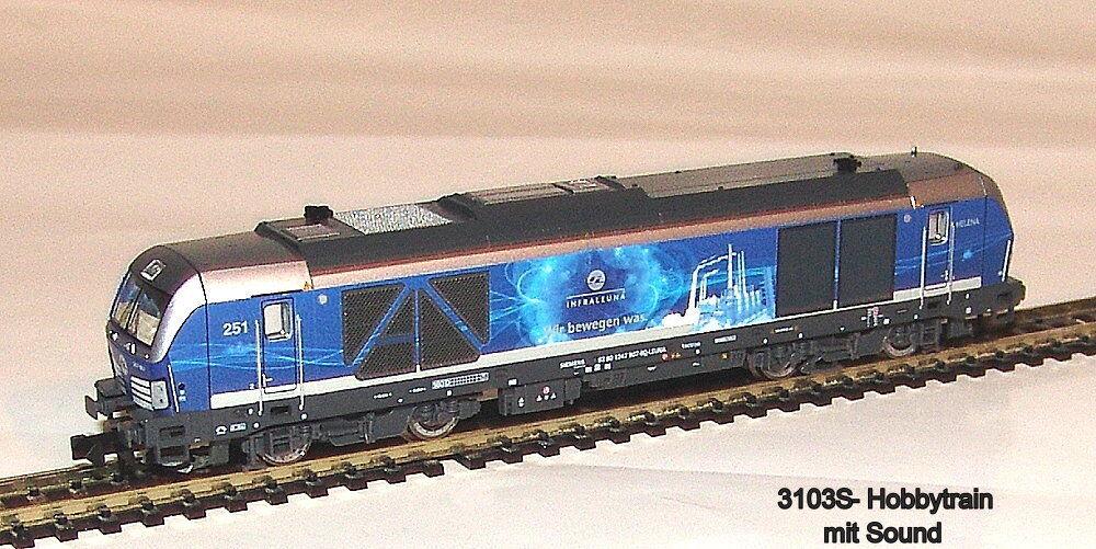 3103 S-Hobbytrain-TRENO BR 247 907 Vectron de Infraleuna EP. vi SOUND