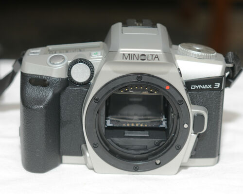 Minolta Dynax 3 35mm SLR Body in Excellent Condition, Working Tested, 1773