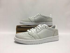 0eeab682124efb Nike Air Jordan 1 Retro Low NS White Gray AH7232-100 No Swoosh ...