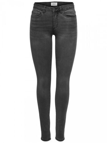 Dark Gre Grau Skinny Fit Only Damen Jeans onlROYAL REG SK DNM JEANS BJ312