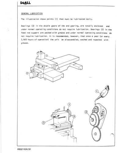 Metalworking Manuals, Books & Plans LD1340 DoALL 13