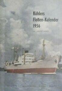 KOHLERS-Flotten-Kalender-1956-Buch-Schiffahrt-B19461