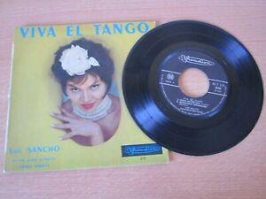 LUIS SANCHO - VIVA EL TANGO - ADIOS MUCHACHOS - JALOUSIE 45 TOURS