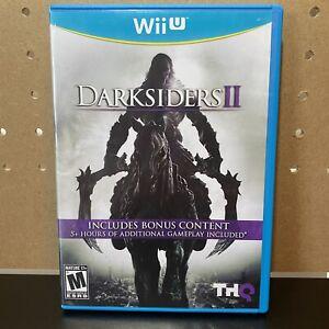 Darksiders II (Nintendo Wii U) CIB Complete with Manual Tested & Working