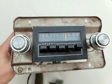 80 86 Ford Truck Bronco Radio In Dash Radio With Mounting Bracket