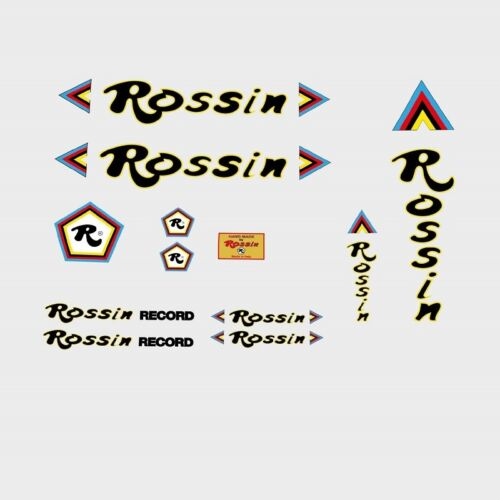 Decals Rossin Bicycle Frame Stickers n.2