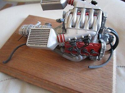 Pocher 1/8 Ferrari F40 Built + Painted Complete Engine