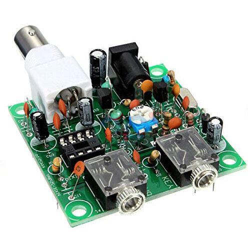 DIY RADIO 40M CW Shortwave Transmitter QRP Pixie Kit Receiver 7.023-7.026MHz